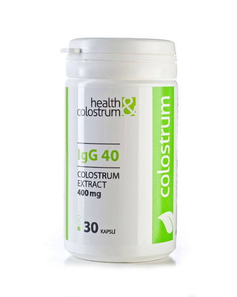 Kolostrum kapsle IgG 40 | 400 mg | 60, 90 ks