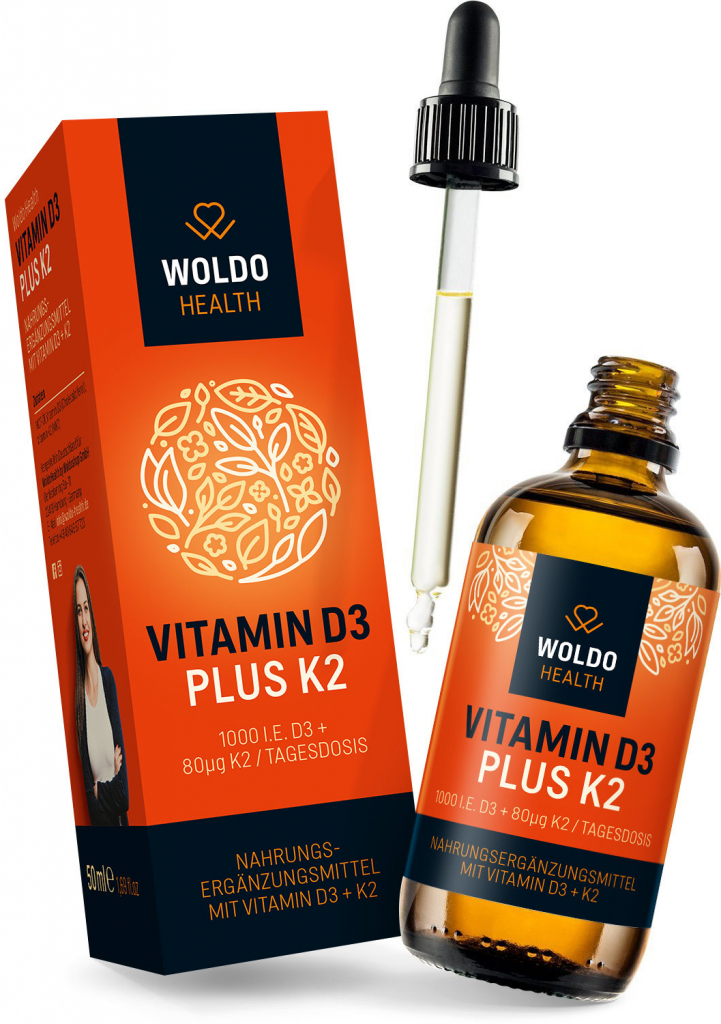 Vitamin D3 + K2, kapky | 50 ml