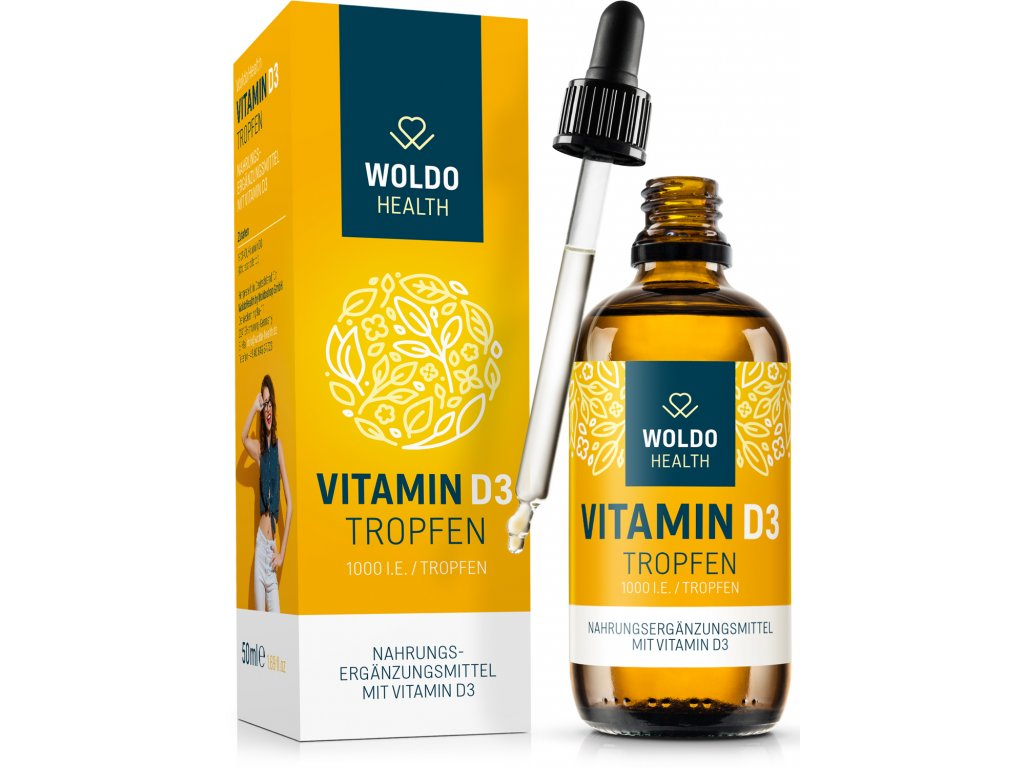 Vitamin D3 kapky, 1 000 I.E | 50 ml