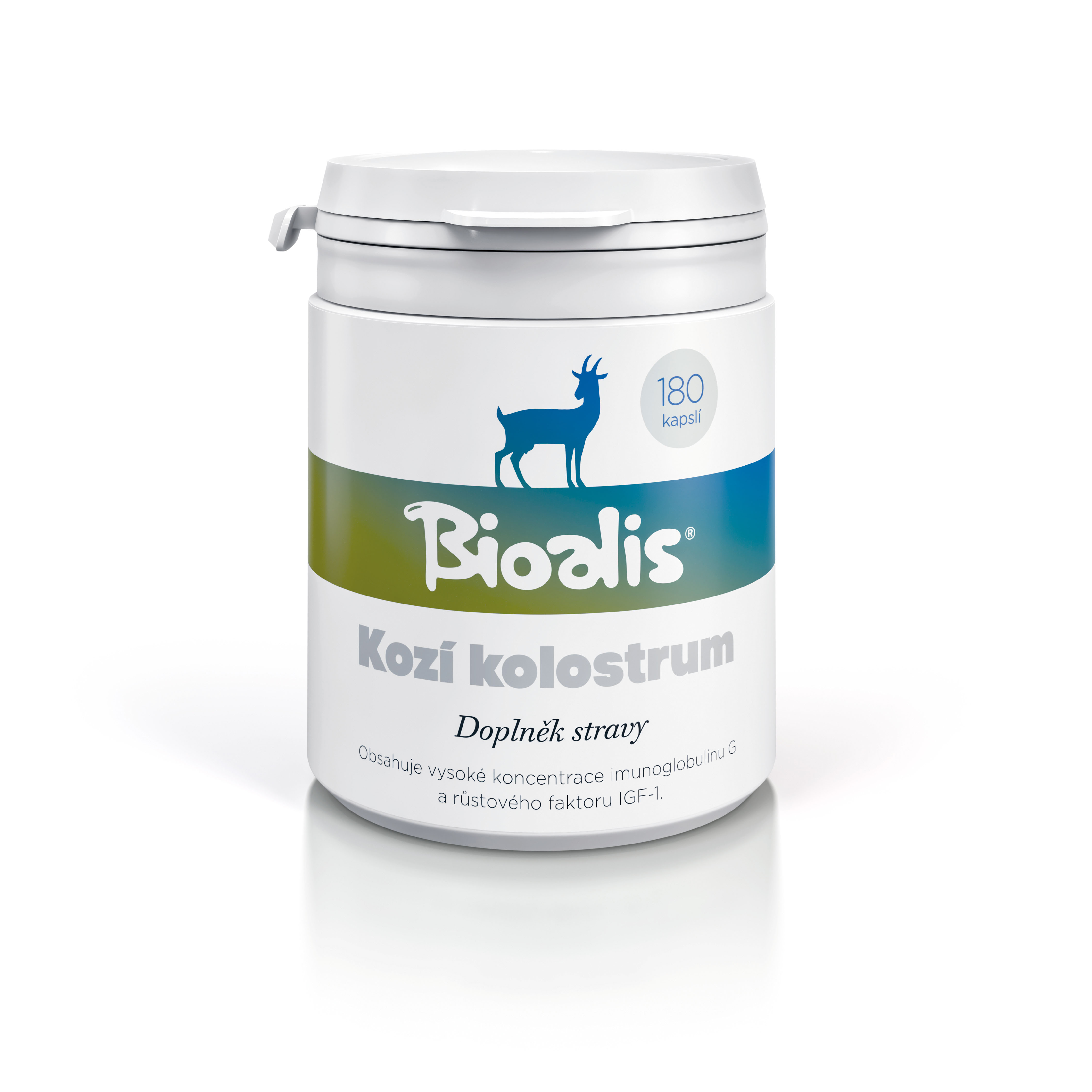 Kozí kolostrum Bioalis  | 180 tablet